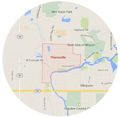 Thiensville Garage Door Service Areas
